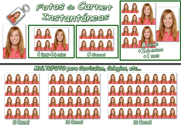 FOTOS DE CARNET Y DOCUMENTACION