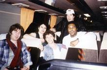 with Mick Taylor USA 1990