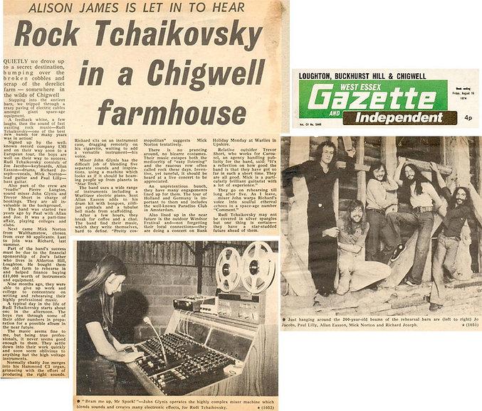 Rudi Tchaivovsky Article 1974