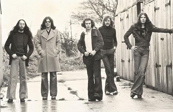 Rudi Tchaikovsky band 1975