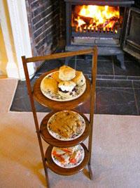 Fireside tea