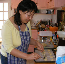 Kaori makes Macaroons