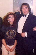 with Kate Bush