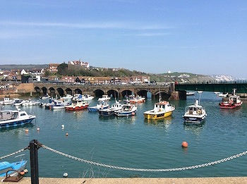 Folkestone Harbour - English Afternoon Tea course location