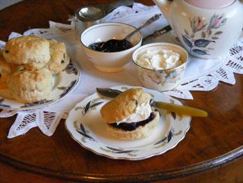 Cream Tea Course setting