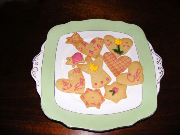 Minami's Iced Biscuits