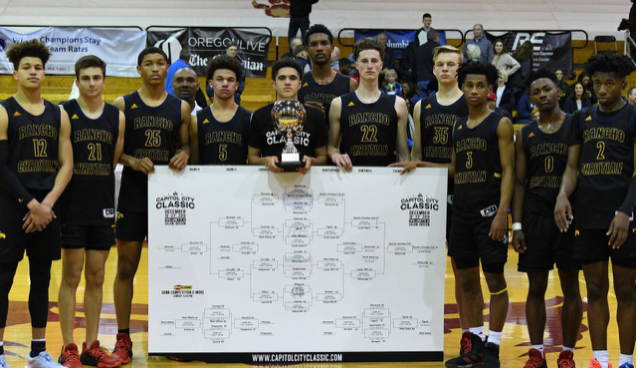 Boosted by Mobley return, Rancho overcomes Wilsonville, 70-63, to win 2020 CCC Johnny Leonard Trophy