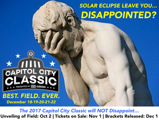 "What's better than ""Totality""? This Year's Capitol City Classic will be!"