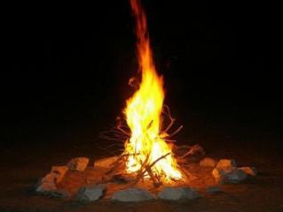 Veillée d'hiver au coin du feu