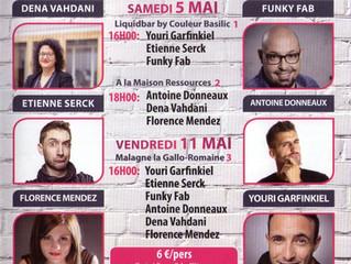Rire et découvrir 3 jeunes talents : Florence Mendez, Dena Vahdani et Antoine Donneaux