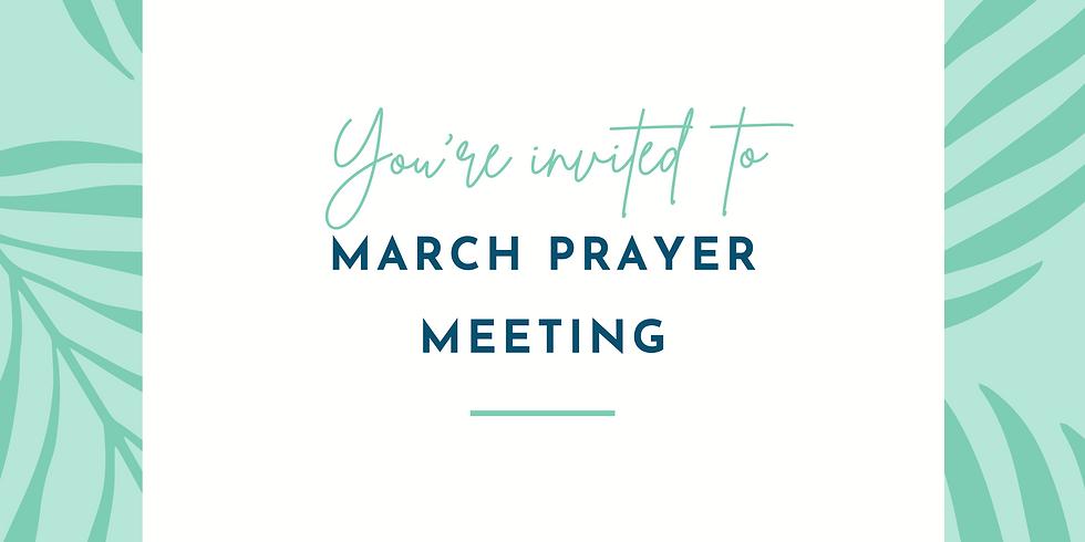 March Prayer Meeting