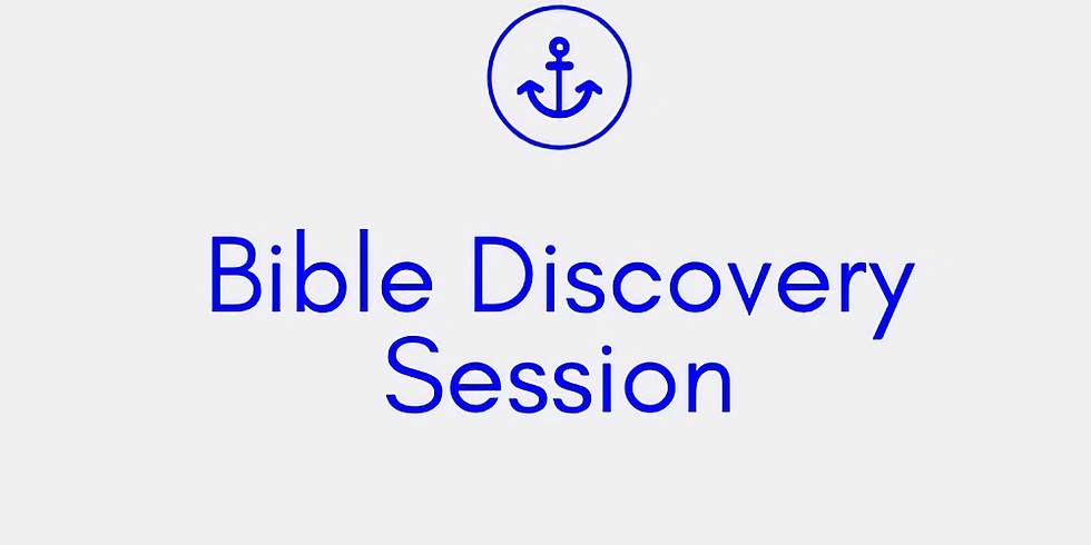 Bible Discovery Session