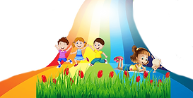 png-clipart-child-sitting-on-a-rainbow-p
