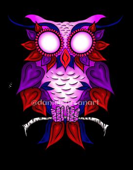 Heart Owl