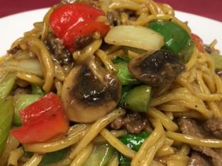 Green Beef Noodle.JPG