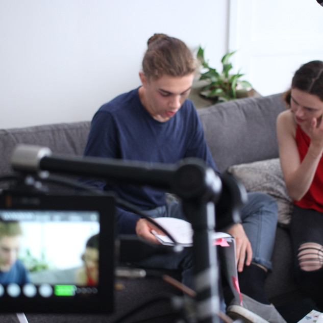 On Set for Kill Me, Heal Me (Feature Film)
