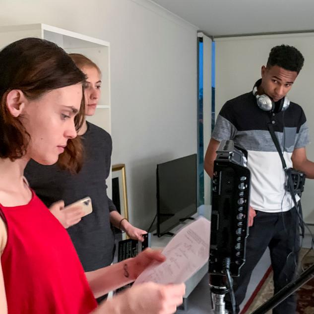 Behind the scenes of Him (Short Film)