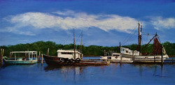 Cedar Key Fishing Boats