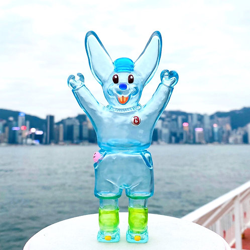 Roller Bunny Butty (Blue Soda High)