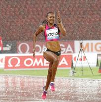 Sarah Atcho, Swiss Sprinter