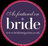 publication in bride magazine