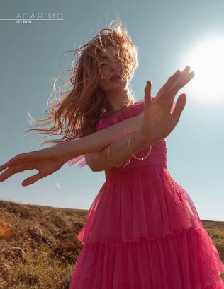 Jana Kukebal Fashion Photograph cover story