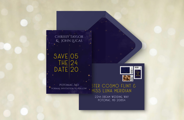 Save The Date +Envelopes