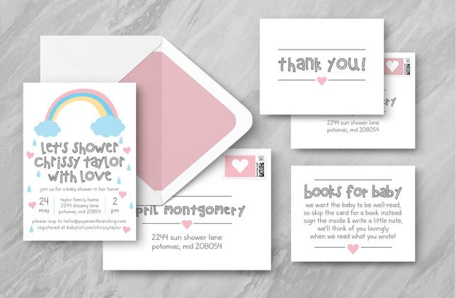 Full Suite + Envelopes - Pink