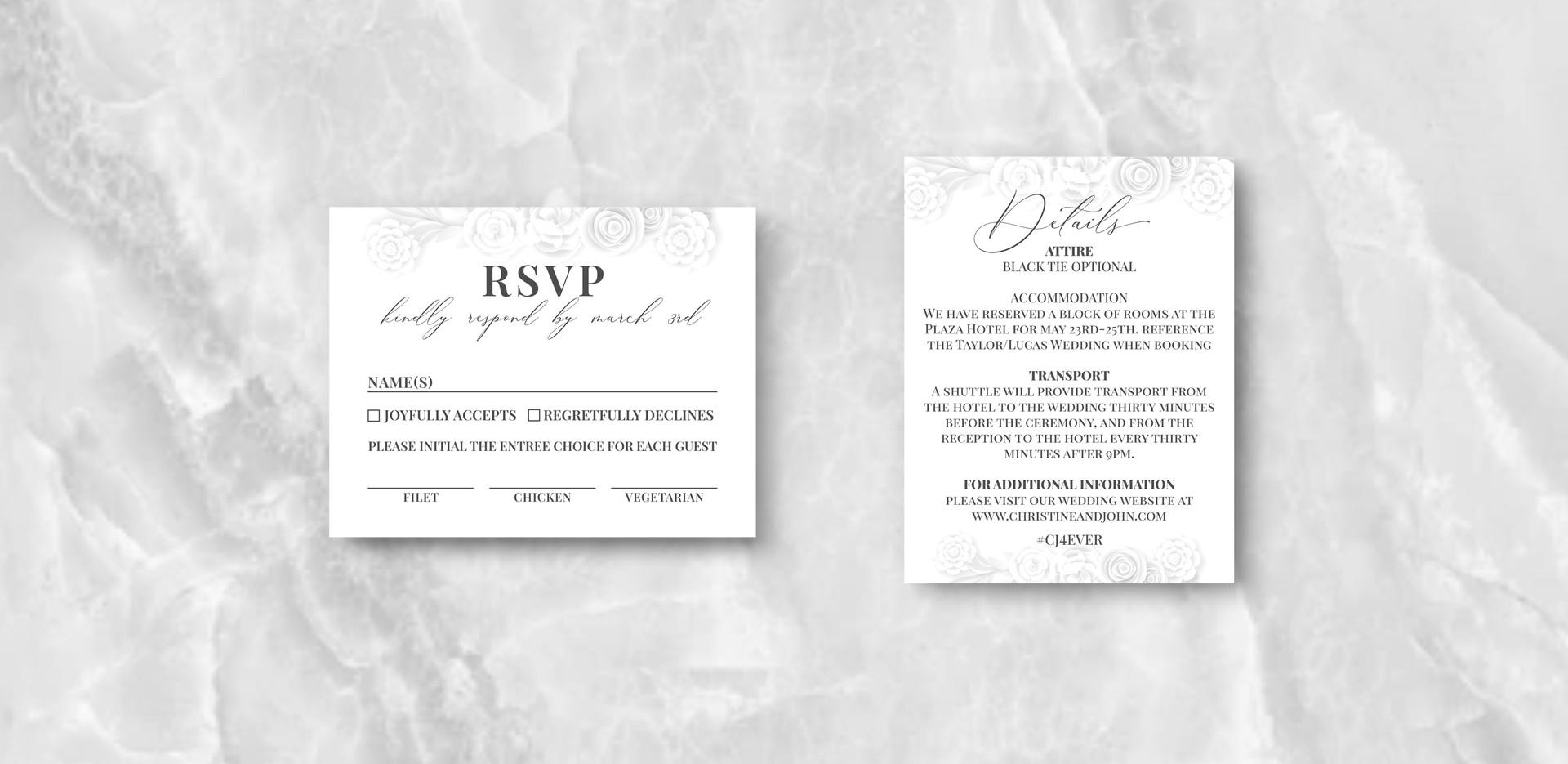 RSVP + Details
