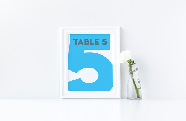 Table Number 3