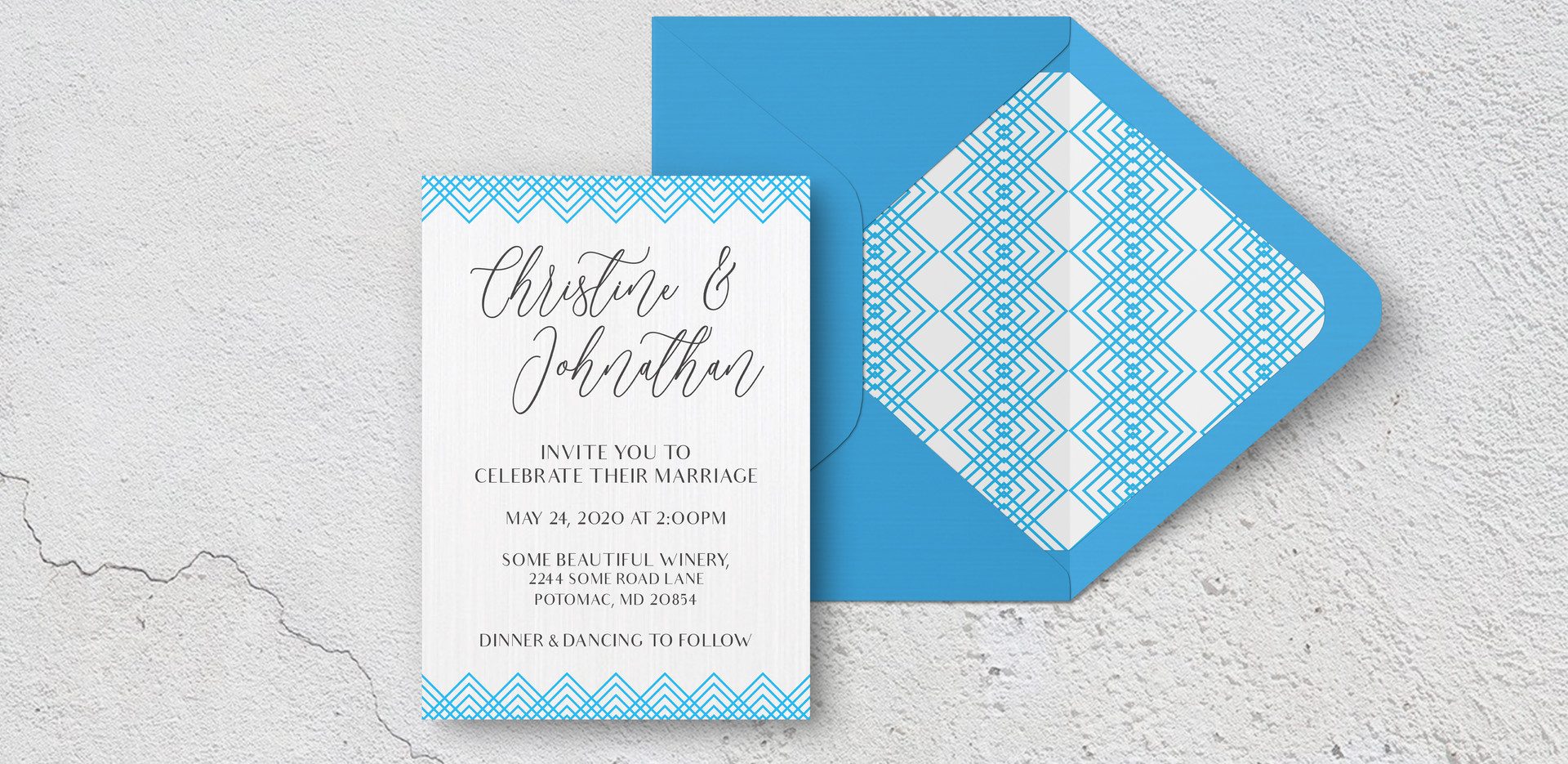 Invite + Envelope