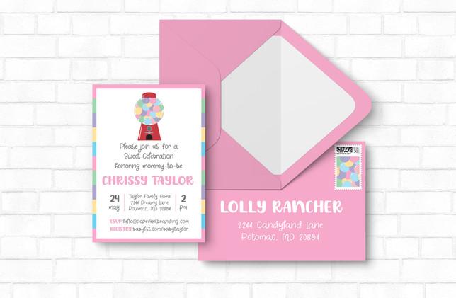 Invite + Envelope