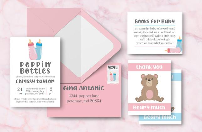 Full Suite + Envelope - Pink