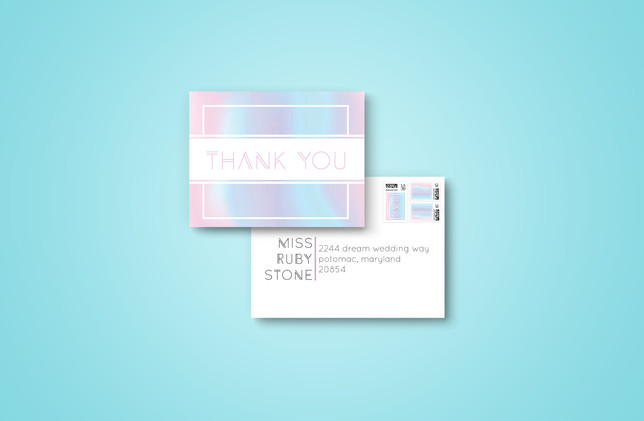 Thank You + Envelope 2