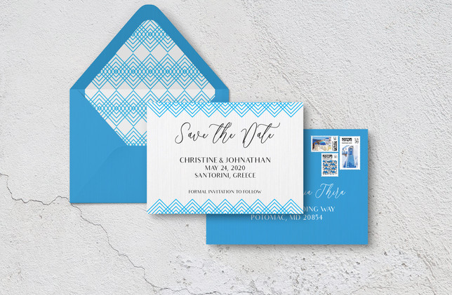 Save The Date + Envelopes