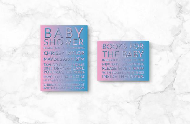 Invite + Books
