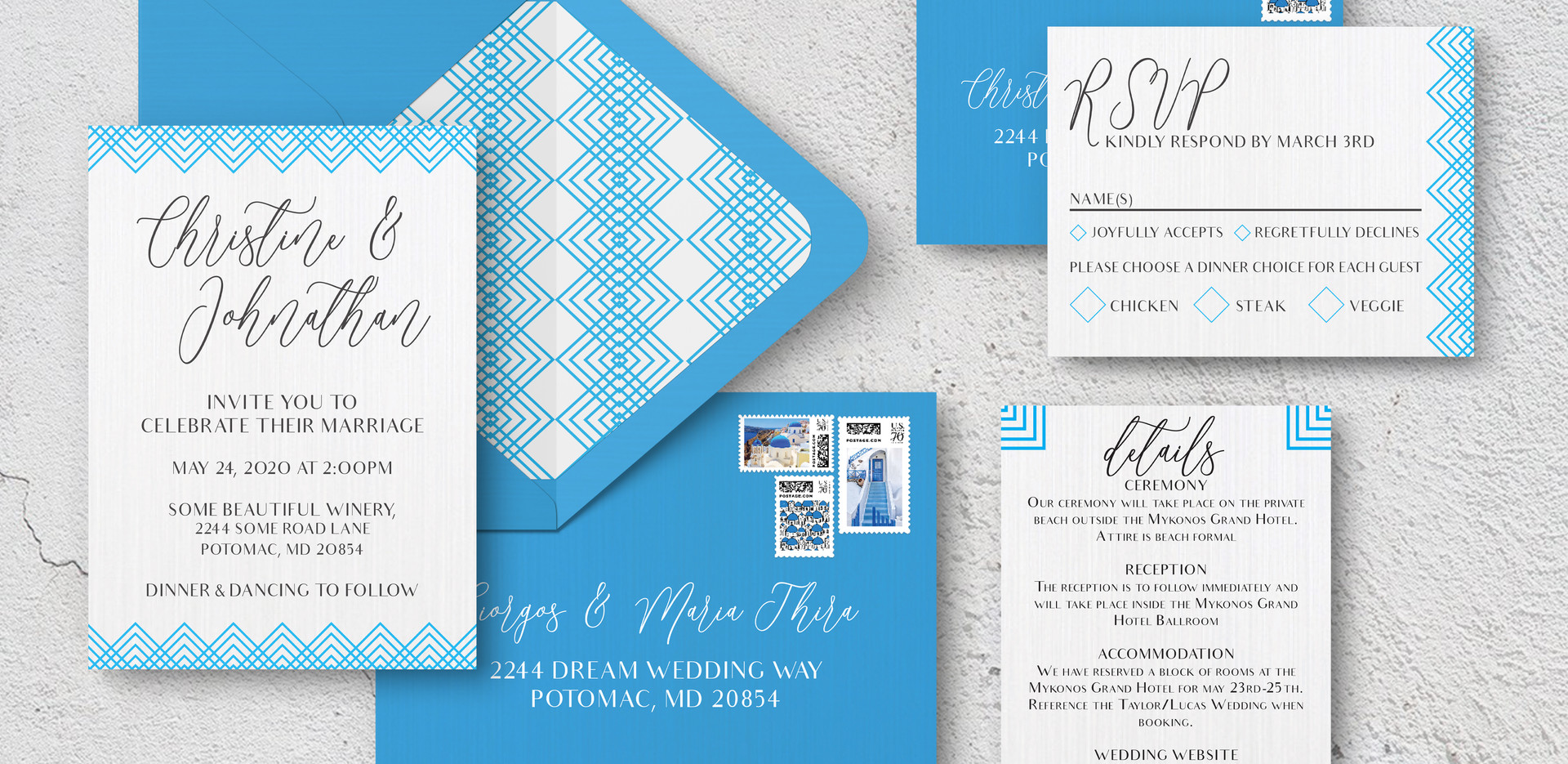 Invite Suite + Envelopes