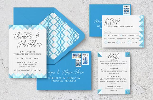 Invite Suite + Envelopes