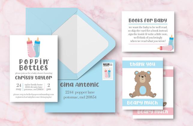 Full Suite + Envelope - Blue
