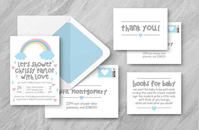 Full Suite + Envelopes - Blue
