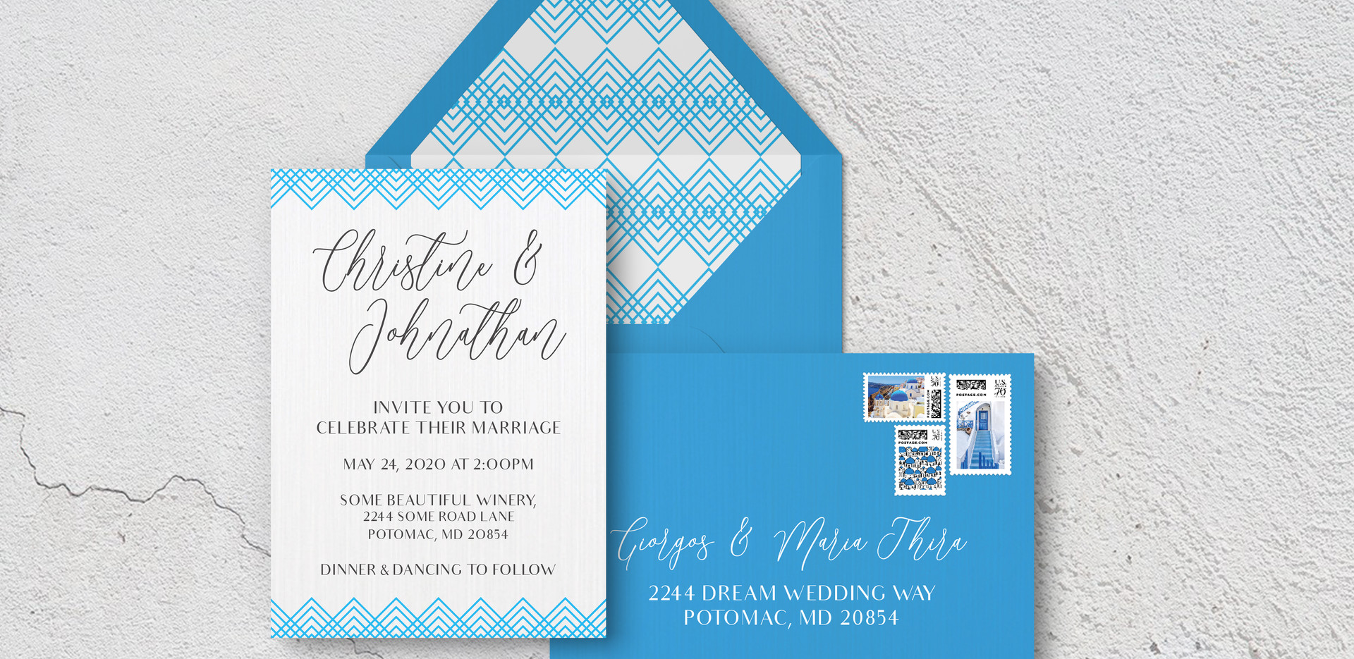 Invite + Envelopes
