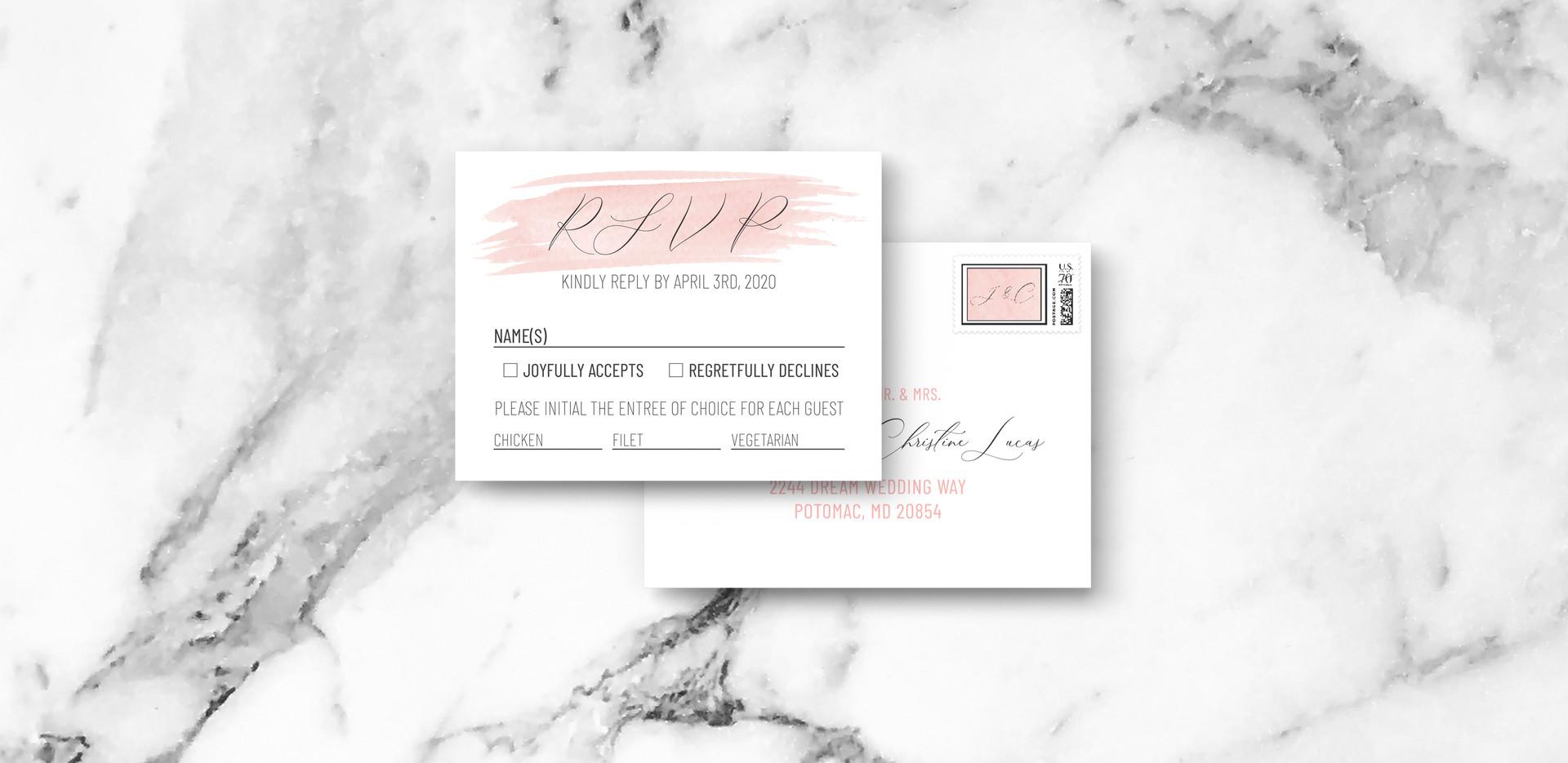 RSVP + Envelope 2