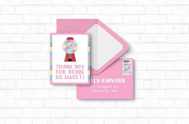 Thank You + Envelopes