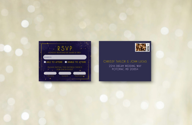 RSVP + Envelope