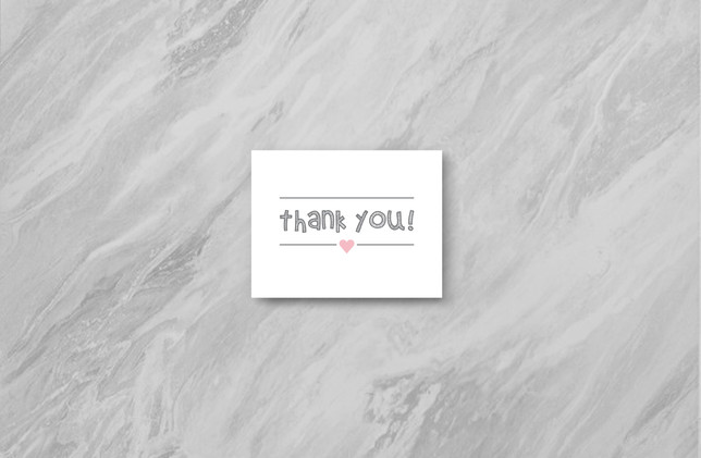 Thank You - Pink