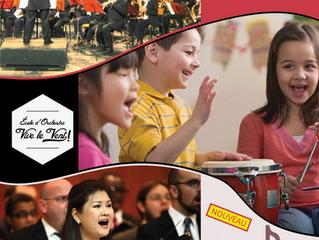 Saison 2017-2018 : Orchestre, Ecole, Chœur, il y en aura pour tous les goûts !