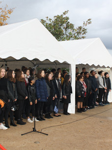 Commémoration du 11 novembre 2018 : L'OHSP a dignement célébré le centenaire de l'armistice