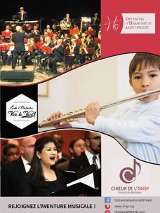 Musiciens, rejoignez notre orchestre ou notre chœur!