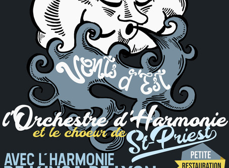 """Samedi 9 février 2019 à 20h : Concert """"Vents d'Est"""""""