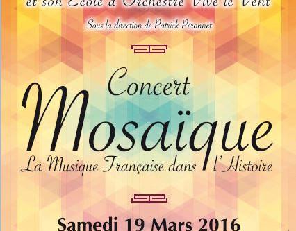 Concert Mosaïque : la musique française dans l'histoire